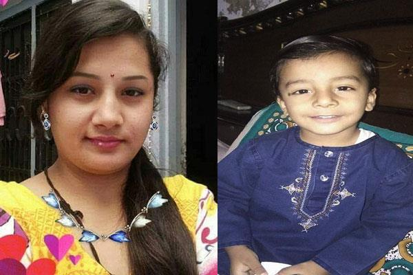 mother son died due to roof collapse