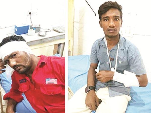 2 sides clashed over cutting slogans of jagrat
