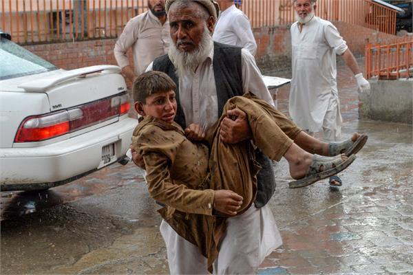 mosque bombing kills 62 people in eastern afghanistan