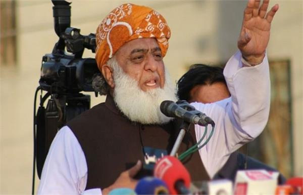 jui f s azadi march to enter islamabad on october 31