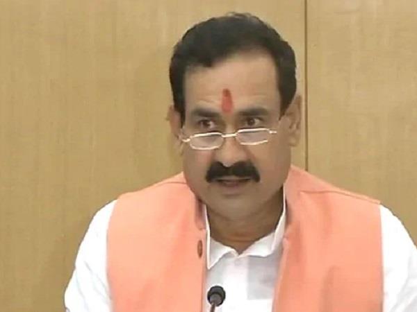 narottam mishra attacks on kamalnath govt