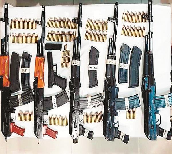 m p reaching in punjab 9 dangerous weapons