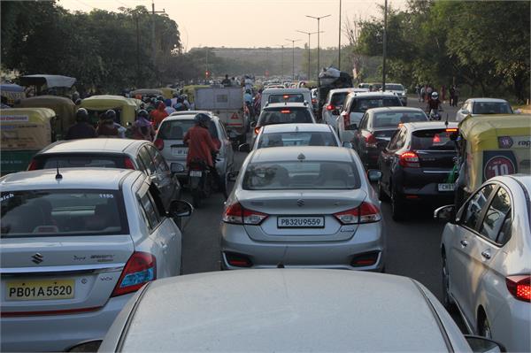 traffic jaam