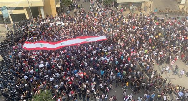 52 security officers injured in beirut protests 70 people arrested