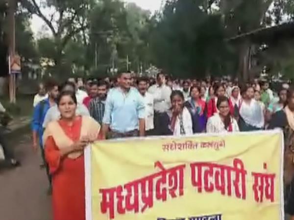 patwari union s indefinite strike