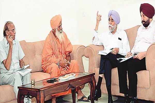 justice jasbir singh visited holy kali bayi