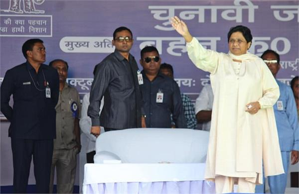 mayawati said  ambedkar will leave hinduism and take buddhism