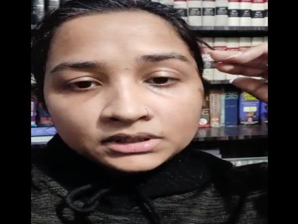 video viral of missing daughter of ex bjp mla surendra nath singh