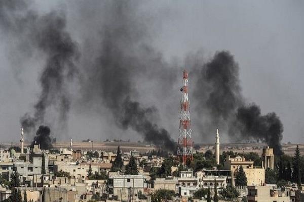 turkey strikes air on syria as soon as america withdraws