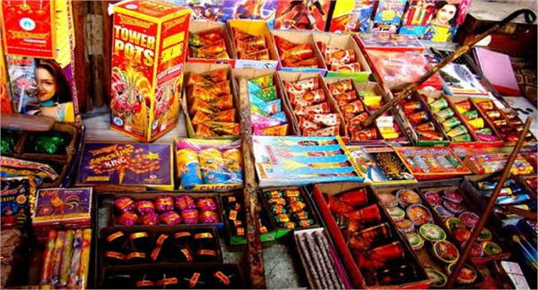 these 9 places will set up temporary shops of firecrackers