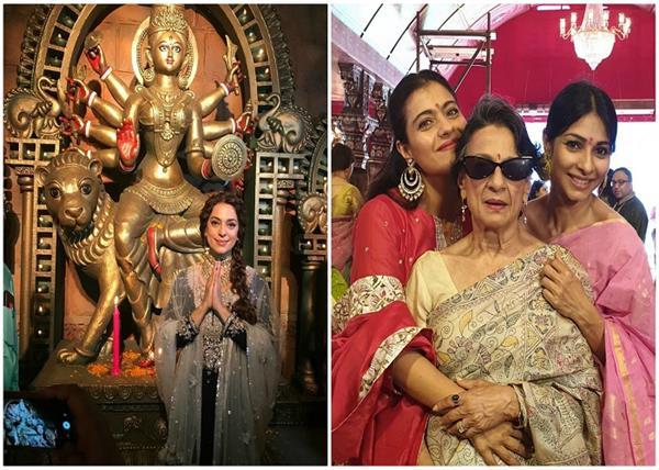 बॉलीवुड डीवाज ऐसे मना रही है नवरात्रि का त्यौहार, देखिए तस्वीरें