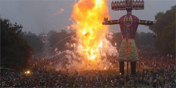echo friendly fireworks will be used in dussehra festival