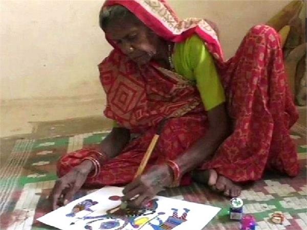 मजदूरी में बीता आदिवासी जोधईया बाई का जीवन, अब अपने हुनर से इंटरनेश्नल स्तर पर पाई पहचान