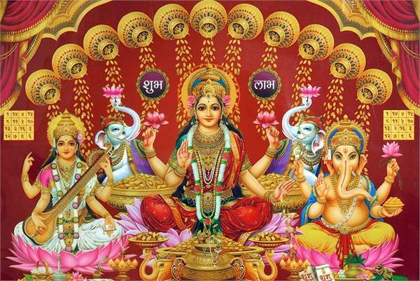 इस वजह से दिवाली पर महालक्ष्मी के साथ इन देवताओं की होती है पूजा