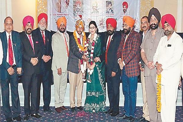 kamaljit kapoor becomes the head of lions club jalandhar