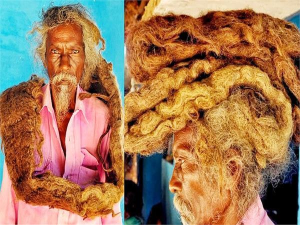 इस शख्स ने 40 सालों से नहीं कटवाए बाल, लोग कहते हैं 'जटाधारी महात्मा'