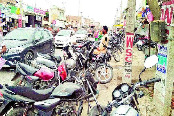 passengers upset due to lack of parking for vehicles outside most banks