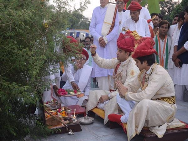 200 years old tradition of scindia royalty