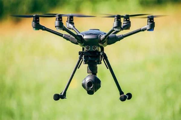 bsf personnel spot drone enters from pak side at hussainiwala border