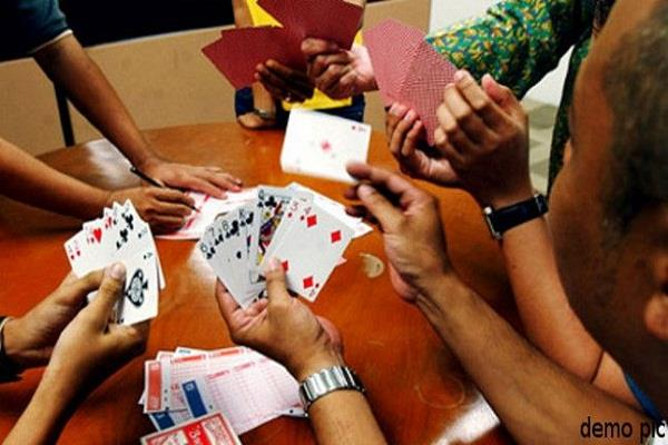19 gamblers caught red handed