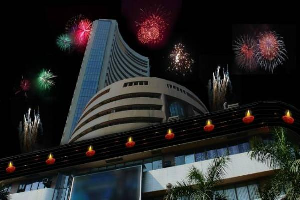 stock market will open for 1 hour on diwali