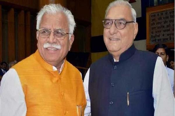 manohar hooda and dushyant join each other in the matter of measuring haryana