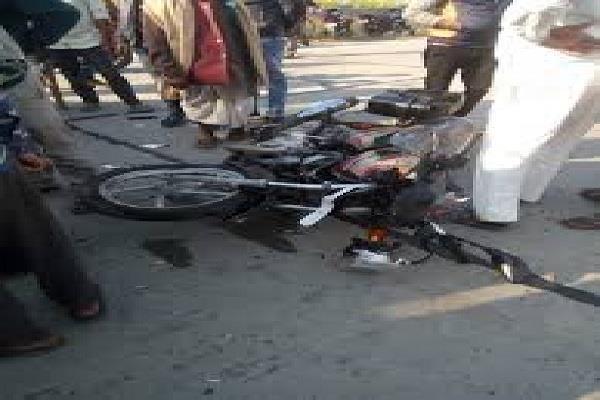 pickup killed 2 motorcycles 1 youth killed 2 injured