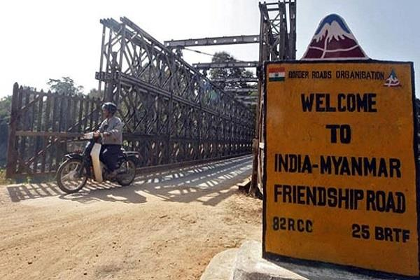 assam rifles sealed indo myanmar border