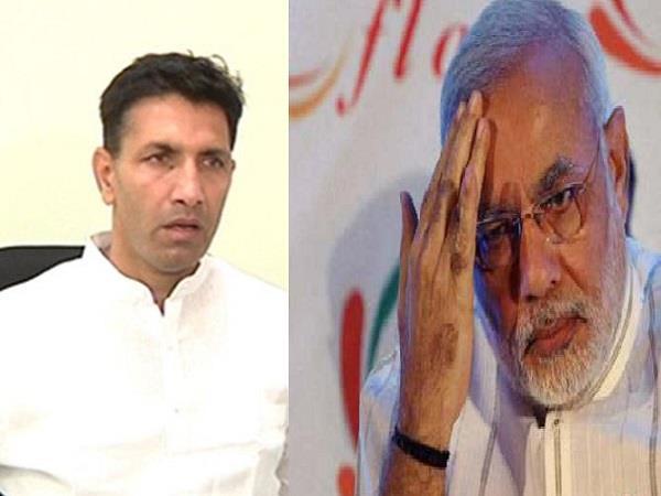 jitu patwari attacked on pm modi