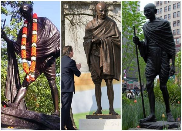 गांधी जी ने कभी नहीं रखा इस विदेशी कंट्री में कदम लेकिन यहीं बनी है उनकी सबसे ज्यादा मूर्तियां