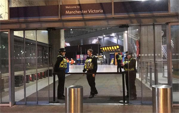 manchester arndale stabbings man arrested on terror charge