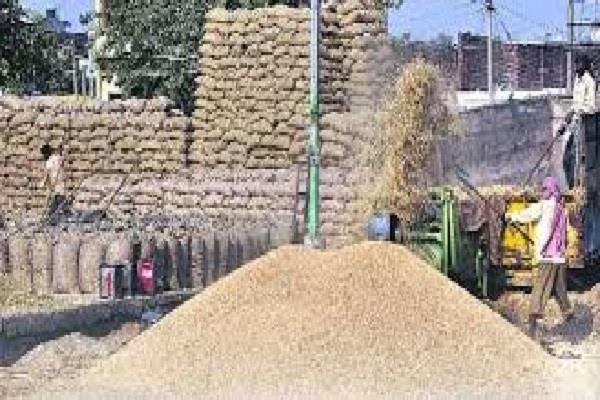 rice mill bought paddy aadhati sent clay bags