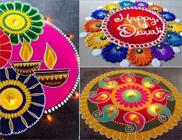 Diwali Rangoli Designs : रंगोली के इन डिजाइन से सजाएं अपना घर