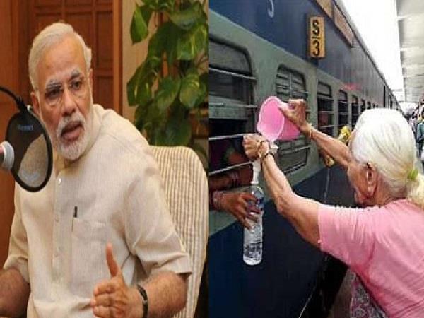 pm modi praises sarla tripathi of gwalior in mann ki baat