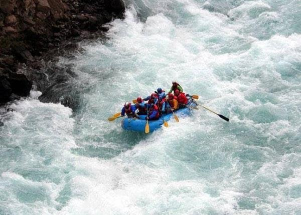 270 km river rafting in beas waters