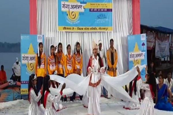 awareness of people for cleaning ganga under namami gange project
