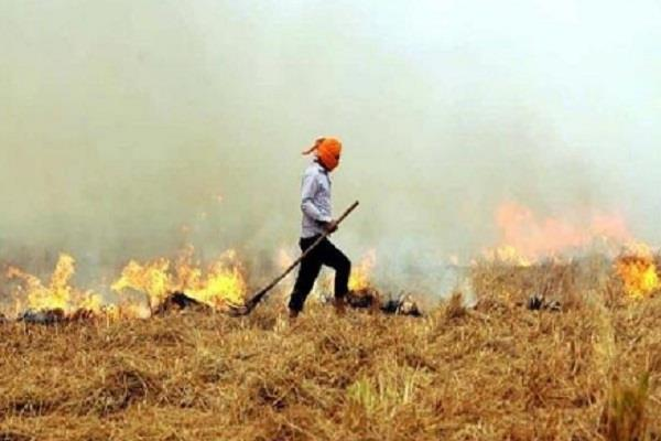 government strict on stubble burning farmers
