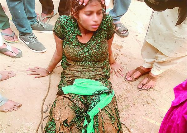 girl jumped into bhakra river