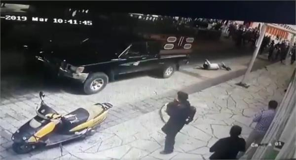 mexico mayor tied to a pickup truck and dragged