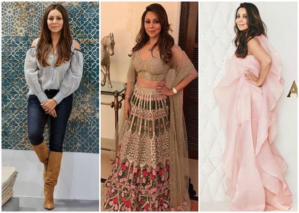 बर्थ-डे स्पैशल पर देखिए गौरी खान की बेस्ट 14 ड्रेसेज (See Pics)