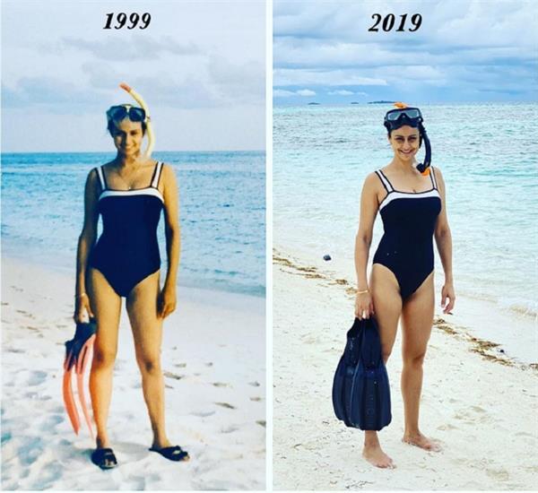 20 साल बाद भी नहीं दिखा फर्क, पहले और अब की फोटो में ऐसी लग रही है गुल पनाग