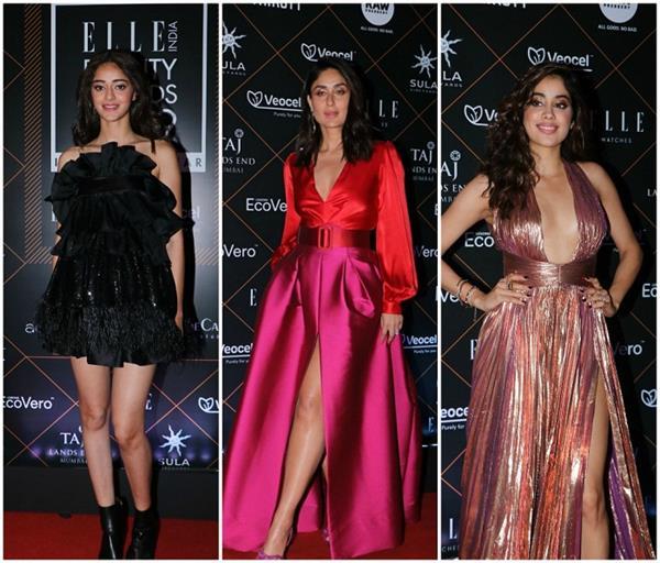 Elle Beauty Awards2019: करीना से लेकर गौहर तक, दीवाज ने दिखाया अपना सेक्सी अंदाज