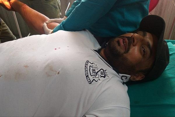 deadly attack on the head of youth congress block banga