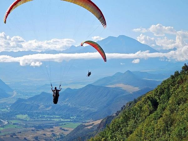 former mla should stop politics in the name of paragliding site