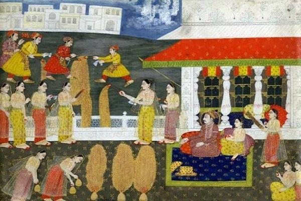 mughals are also celebrate festival of lights