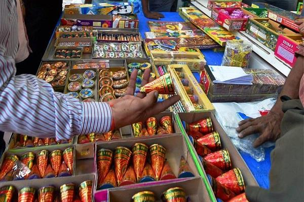 raids in residential areas of jasur crackers worth lakhs seized