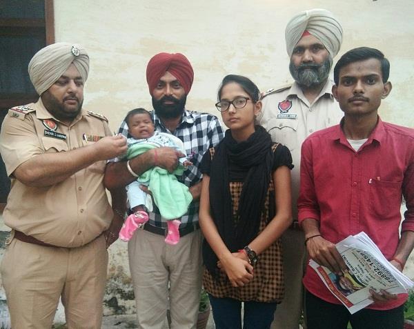 kalyugi parents threw a 3 month old girl on the railway track