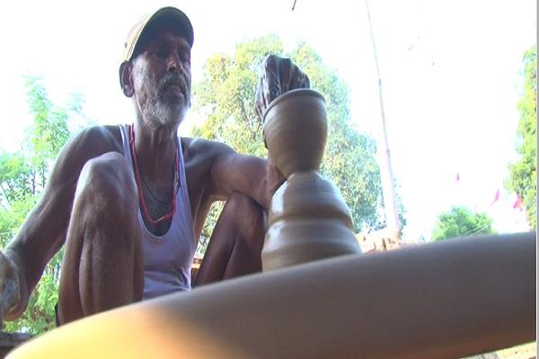 the faces of potters blooming this diwali increased demand made from clay