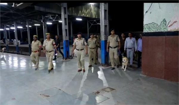 high alert in kanpur after the capital attack in view of
