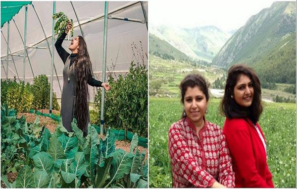 लाखों का पैकेज छोड़ लोगों को रोजगार दे रही ये पहाड़ी बहनें, जानिए इनके जज्बे की कहानी